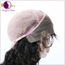 2014 bom feedback barato saudável castanho curto peruca feminina, Atacado lace wigs em alibaba