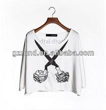 New Arrival fashion chiffon woman dress OEM manufacturer individuality lady top 2014