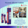 SJ-400 Neutral Clear Silicone Sealant