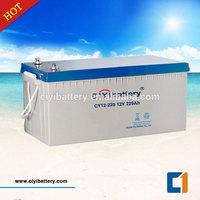 Maintenance Free Battery Valve Regulated Sealed Lead Acid Battery 12V 220AH