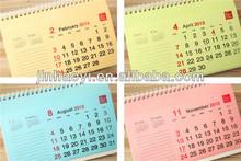 2014 custom calendar printing in lahore