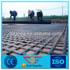 plastic retaining wall Polyester geogrid with CE