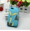 cute fox silicone case cover for iphone 5s 2014 new design