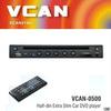 VCAN0500 Half-din in-dash car dvd players cheap car dvd players DVD/MP4/DIVX/JPEG/VCD/MP3/CD/CD-R