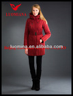 2014 Latest Real Fur Fashion High Quality Winter Shiny Maternity Clothes In Turkey