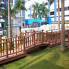 high density Environmental outdoor Wpc Fence wpc railing