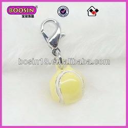 Sport goods tennis ball charm Alibaba supplier#12528
