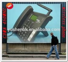 wireless phone cdma 450mhz mp3 voice message FM radio 3g cdma fixed phone ET301-02