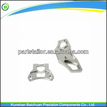 High precision CNC processing part aluminum natural anodizing parts