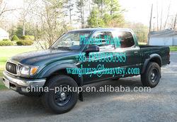 Toyota Tacoma Crew Cab Fiberglass Classical Tonneau Cover