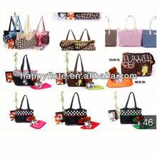 2014 fashion style mummy bag fashion mama bag for baby,diaper bag