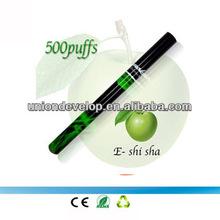 hot selling e shisha pen disposable e cigarette e shisha(apple flavor)