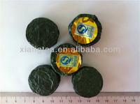 Chinese compressed tea dark tea cake