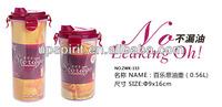 Hot Sale Little 560ML Practical Seasoning Container Food Grade Plastic PP Bottle for Vinegar and Oil