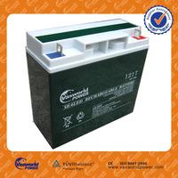 12v17ah solar dry cell battery for AGM lead acid battery