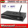 2 x Smart Card DM 800HD SE V2 Newest Tv Decoder DM800 HD SE V2 wifi Digital Linux satellite receiver DM800HD SE V2
