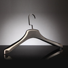China supplier free standing plastic chrome hanger promotion