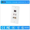 tomada de alta qualidade hdmi placa de parede hdmi rj45 faceplate com rj45 china fornecedor confiável