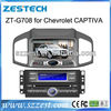 ZESTECH DVD Supplier 2 Din Touch Screen Car Navigation For Chevrolet Captiva Navigation with Gps Radio Bluetooth IPOD TV RDS AUX