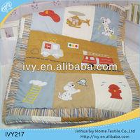 Modern wholesale baby bedding set nursery for boys