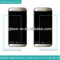 Para telefones móveis em dubai temperado vidro protetor de tela( apto para htc um m8)