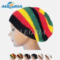 Rasta reggae& los hombres las mujeres ganchillo hecho a mano de reggae gorro de punto