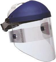 transparent petg visor and pc visor off road helmet with visor manufacturer pass ANSI/ISEA Z87.1-2010