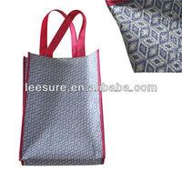 2014 new fashion shiney bling bling nonwoven laminated shopping bag