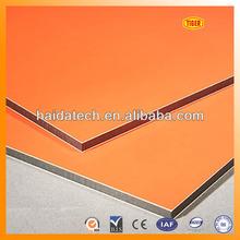 2014 hot sale aluminium composite panels/ ACM panels