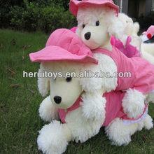 lovely lies prone dog plush toy &baby gift car emblem stuffed toy& cheap plush toy