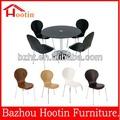 alta qualidade de madeira curvada jantar cadeira com armação de metal para venda c719