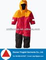 jaqueta infantil terno para o menino de yingjieli crianças um pedaço ternos de esqui de inverno 2015