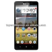 5inch Ideaphone Lenovo P780 Android Smartphone 4.2 MTK6589 Quad Core 1.2GHz 8.0MP Camera Mobile Bluetooth WIFI GPS 4000mAh batte