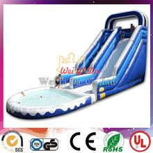 Manufacturer Factory 18ft inflatable water slide