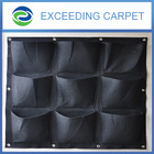 flower wall containers, fabric hanging plant bags, vertical garden hydroponics systems
