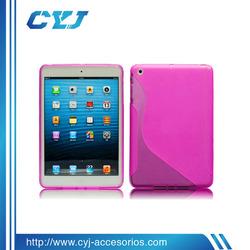 2014 New arrival for ipad mini case, for ipad mini case with transparent design