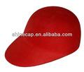 Lana ecuestre sombrero de fieltro de lana sombrero de montar el sombrero