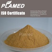 Natural schisandra berries extract powder manufacturers,food supplement schisandra berries extract powder