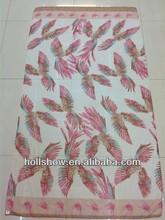 Animal Hawk Eagle Print Fashionable Plain Polyester Neck Scarfs