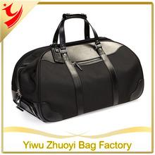 Korean Brand And Retro Pu Mens Duffel Bag