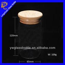 Wholesale Glass Herb Storage Jars ,mason jar drinking glass with bamboo lid