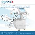 صدمة الموجة تجميد الدهون النحات الجسم 6 في الجمال cryolipolysis يبو 1 criowave الثاني