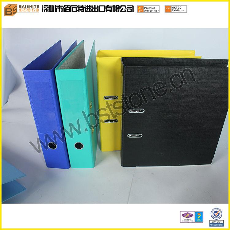 human a4 paper binder custom design cheap clip file binder