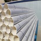 Blue white grey color ODM custom rectangular pvc pipe