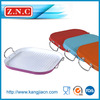 High quality ceremic coating shallow baking pan