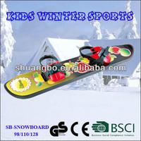 Popular Freestyle Kids Beginner Snowboard with Bindings