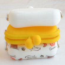 2014 laset silicone beach bag / silicone handbag,silicone bag for shopping, designer silicone bag