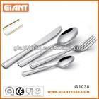 High grade golden plated stainless steel Flatware