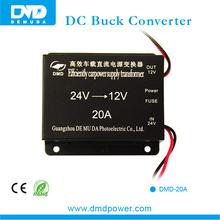 Top Performance 20A 24volt To 12volt dc to dc power converter