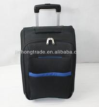 Single Trolley bag soft travel case cheap small size bag
